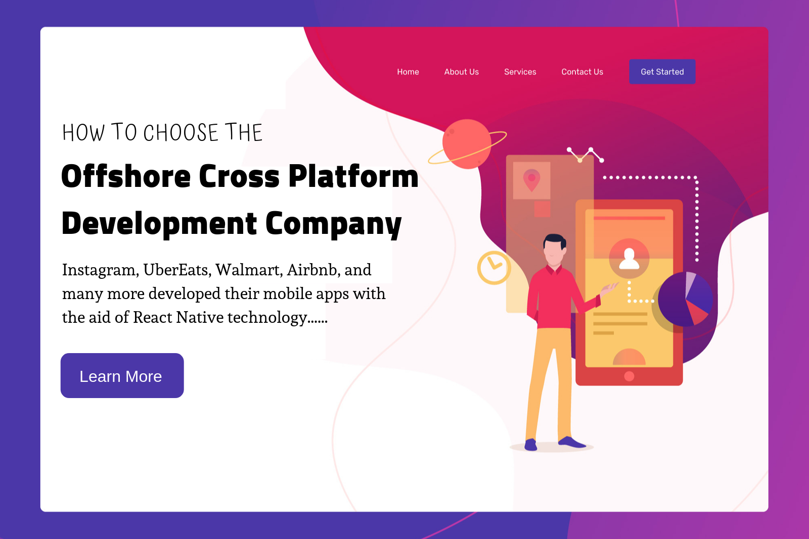 How to Choose the offshore cross platform development company