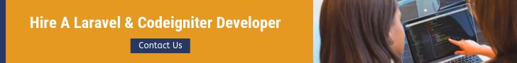 Hire a laravel & Codeigniter Developer