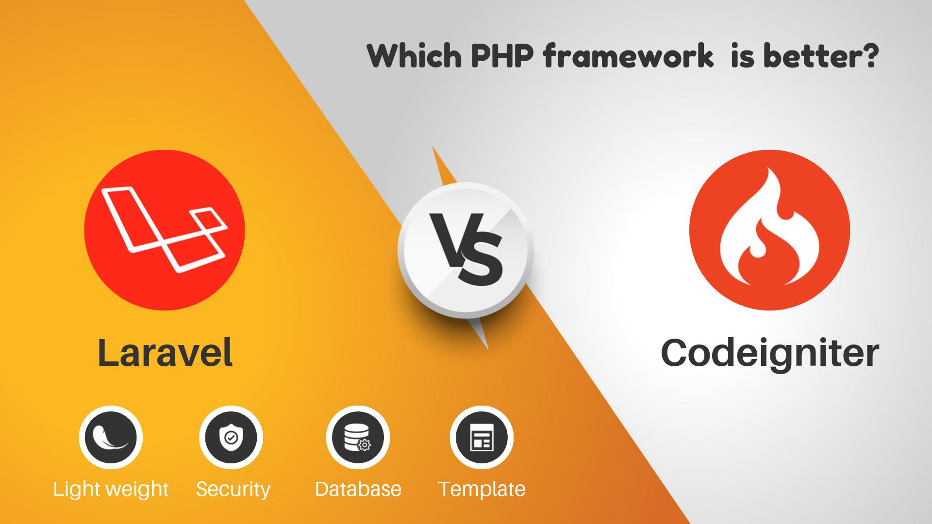 codeigniter vs laravel: Which PHP Framework is better?