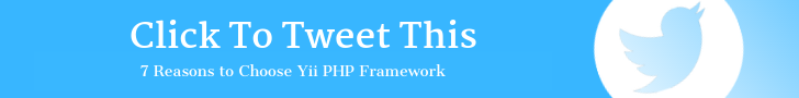 7 Reasons to Choose Yii PHP Framework