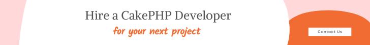 Hire a CakePHP Developer