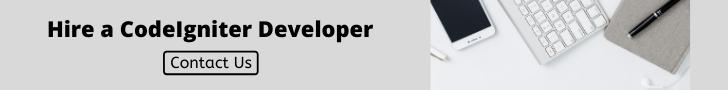 Hire a CodeIgniter Developer