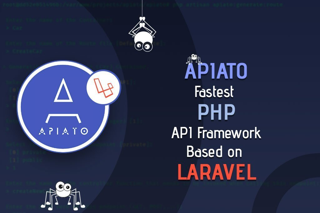 Apiato Fastet PHP Framework Based on Laravel