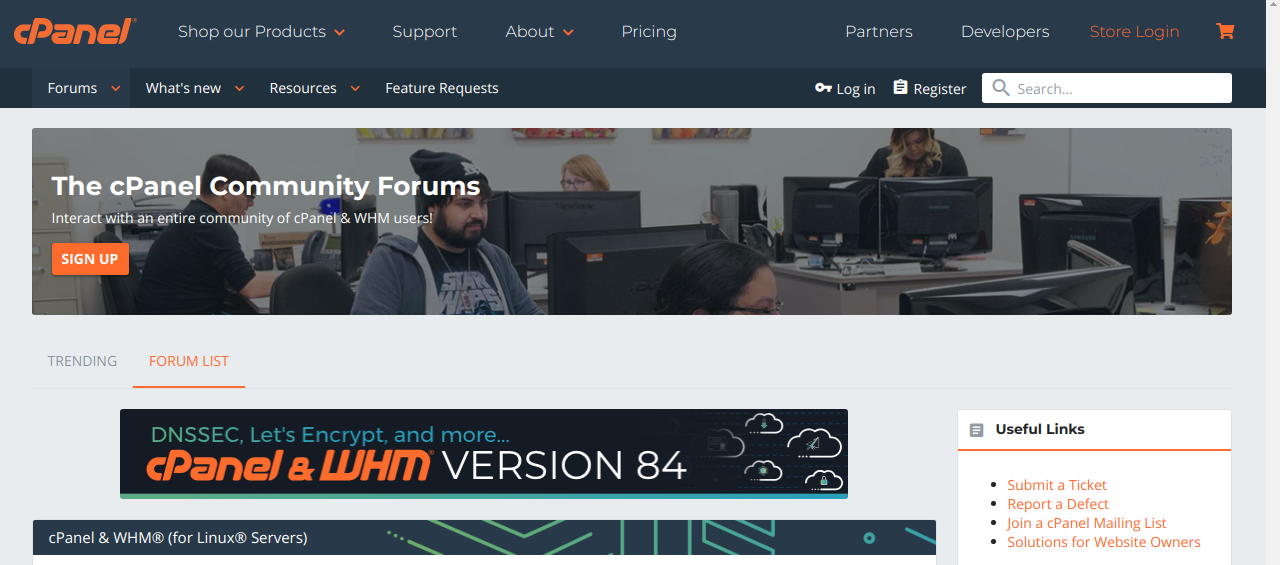cPanel Forums