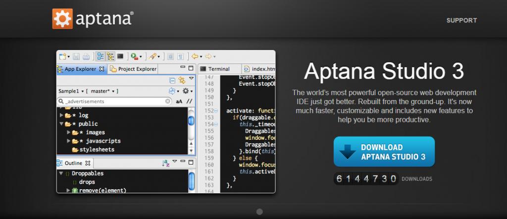 Aptana PHP