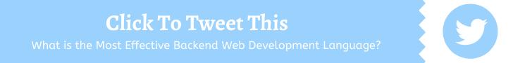 Backend Web Development Language