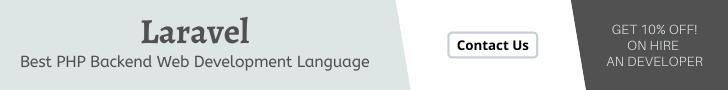 Laravel Backend Web Development Language
